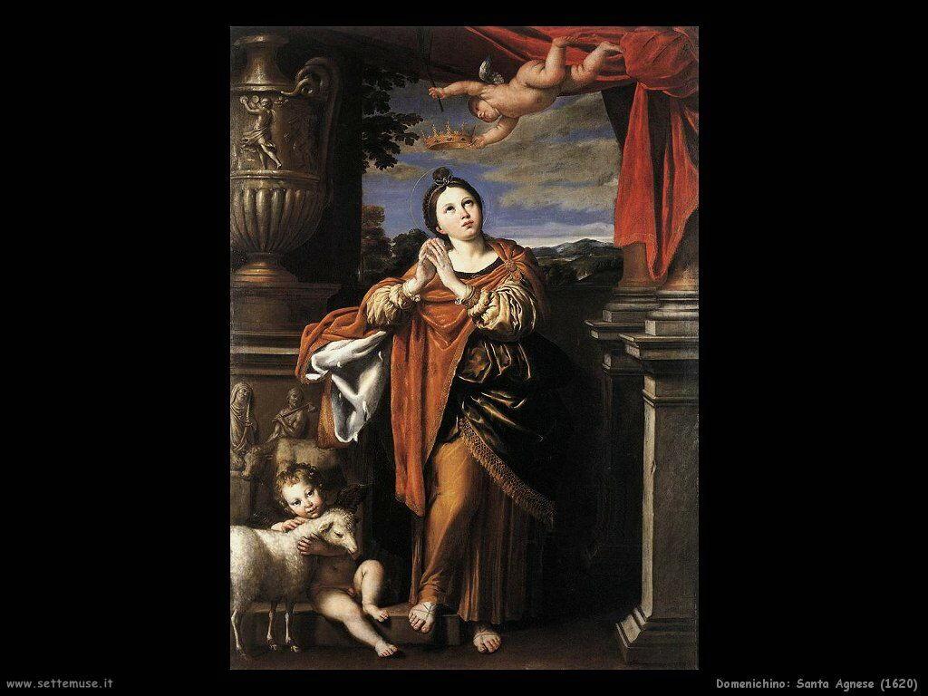 domenichino Santa Agnese (1620)