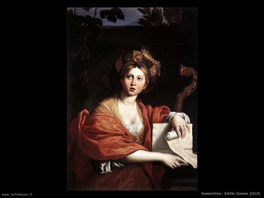 domenichino Sibilla Cumana (1610)