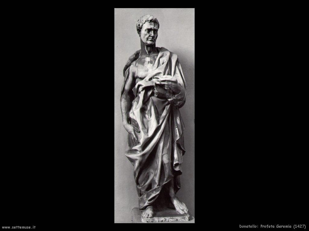 Donatello Profeta Geremia (1427)