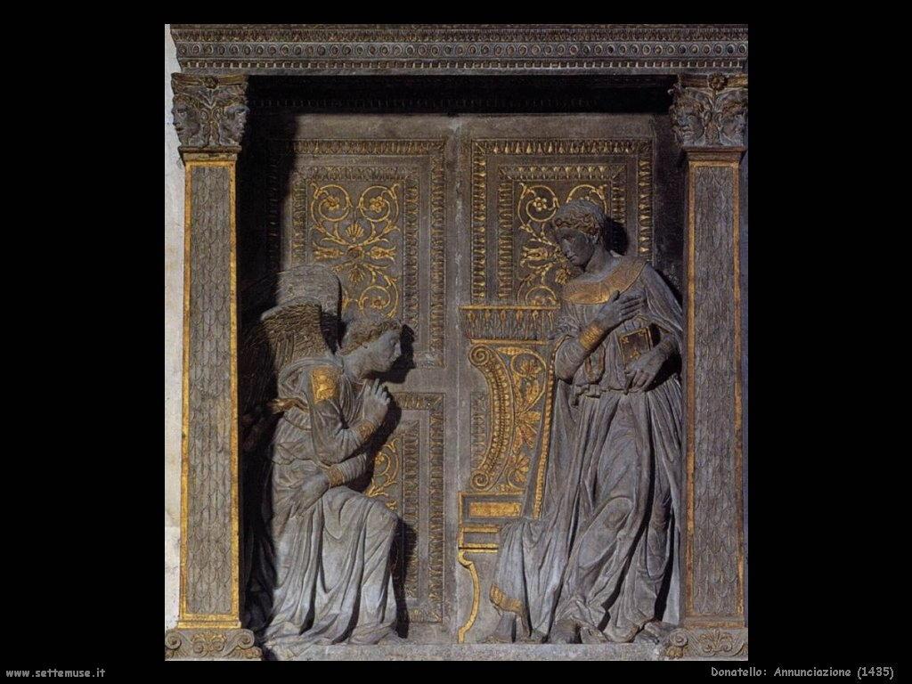 Donatello Annunciazione (1435)