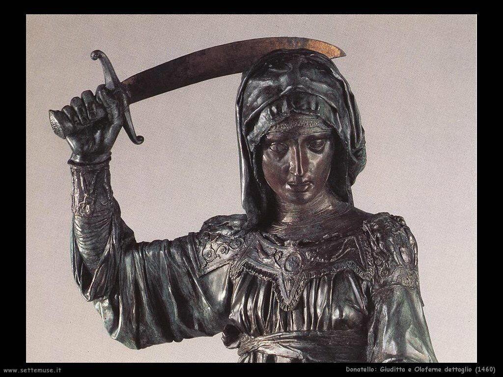 Giuditta e Oloferne (1460 dettaglio