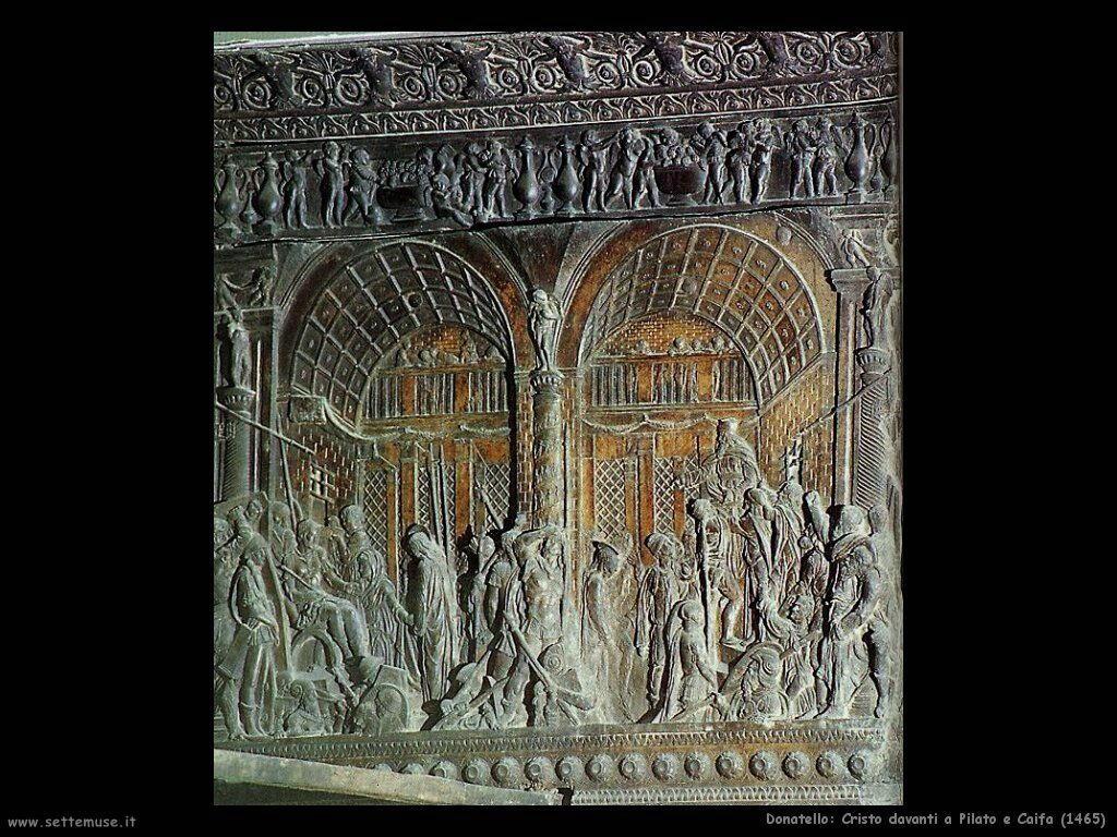 Cristo davanti a Pilato e Caifa (1465)