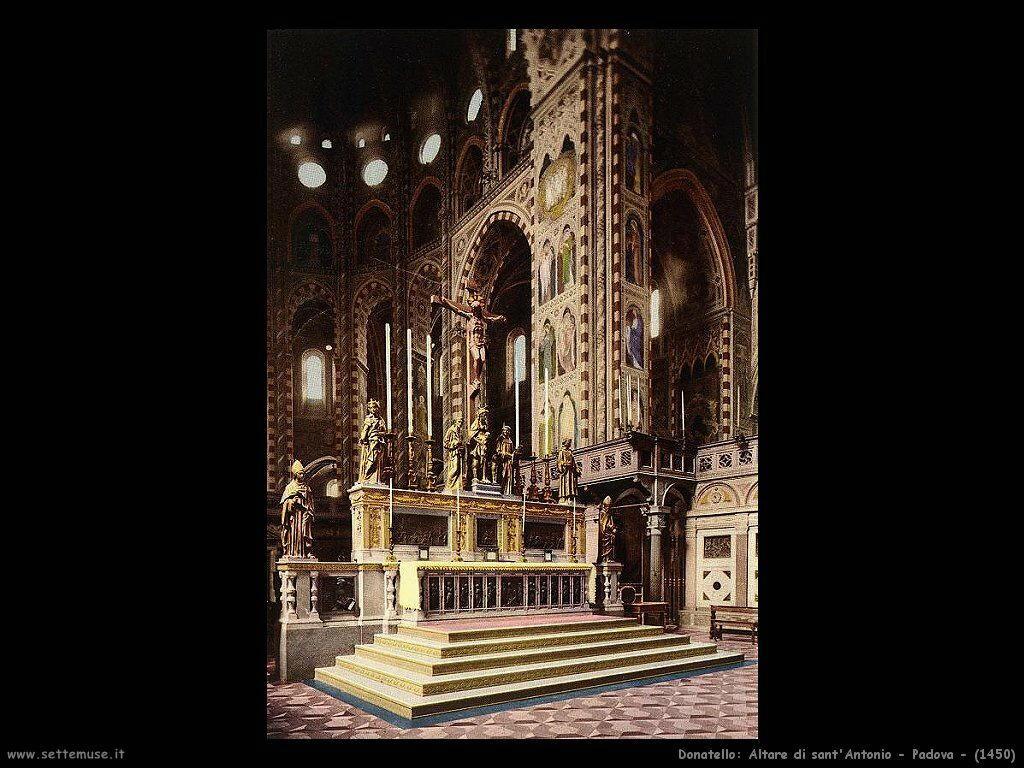 donatello Altare di Sant'Antonio Padova (1450)