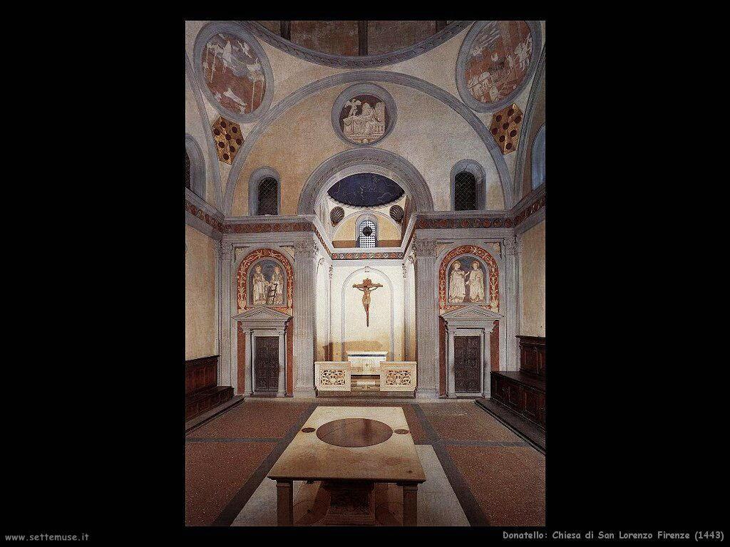 donatello Chiesa di San Lorenzo a Firenze (1443)