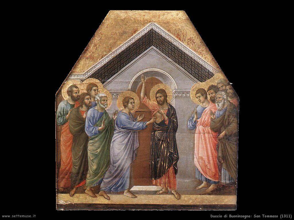 Duccio di Buoninsegna San Tommaso (1311)