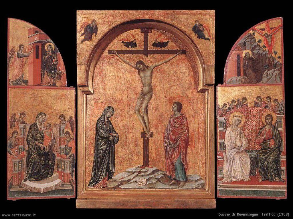 Duccio di Buoninsegna Trittico (1308)