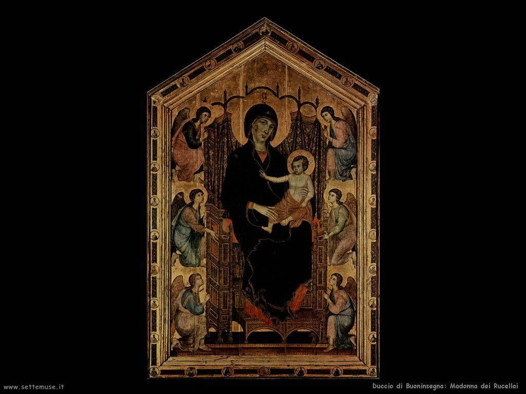 Duccio di Buoninsegna Madonna dei Rucellai