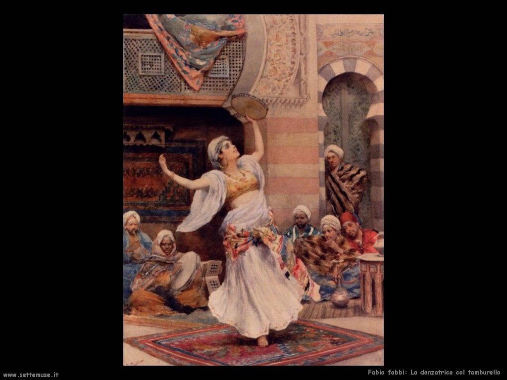 fabio fabbi Danzatrice con tamburello