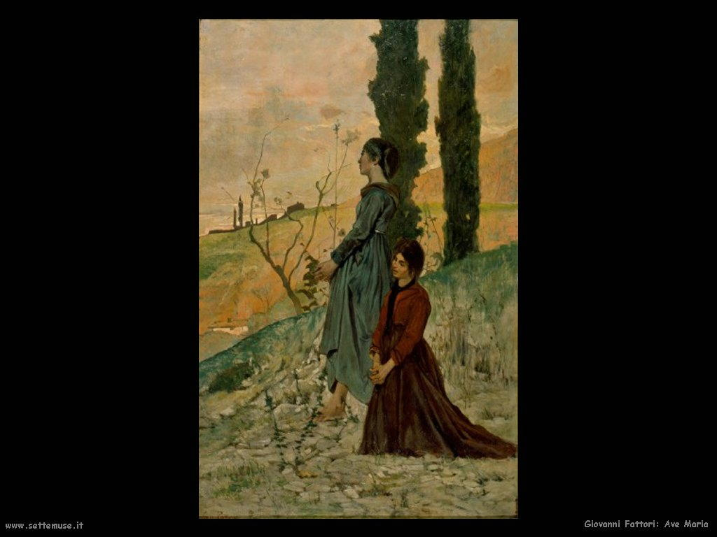 Giovanni Fattori Ave Maria
