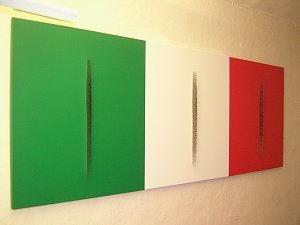 Dipinto di Lucio Fontana