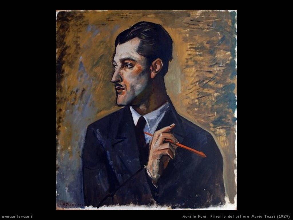 Ritratto di Mario Tozzi (1929)