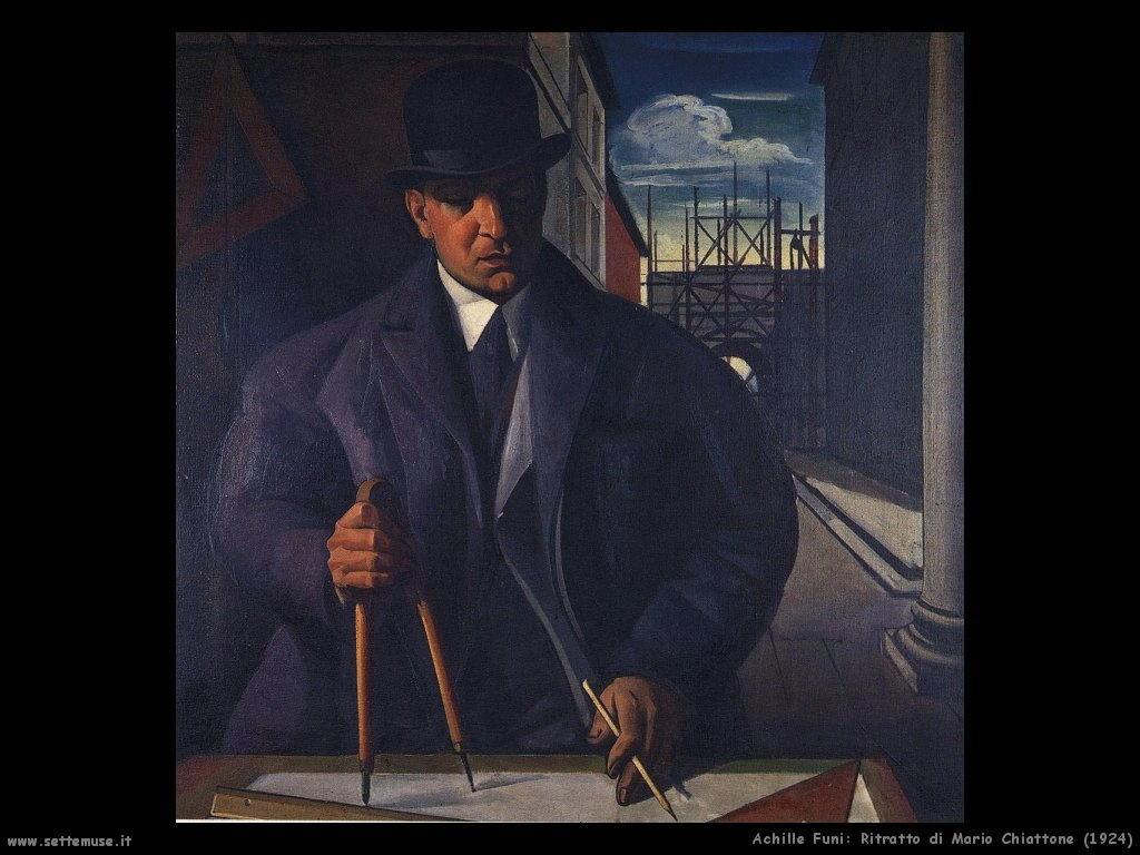 Ritratto di Mario Chiattone (1924)