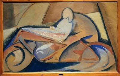 Dipinto di Achille Funi