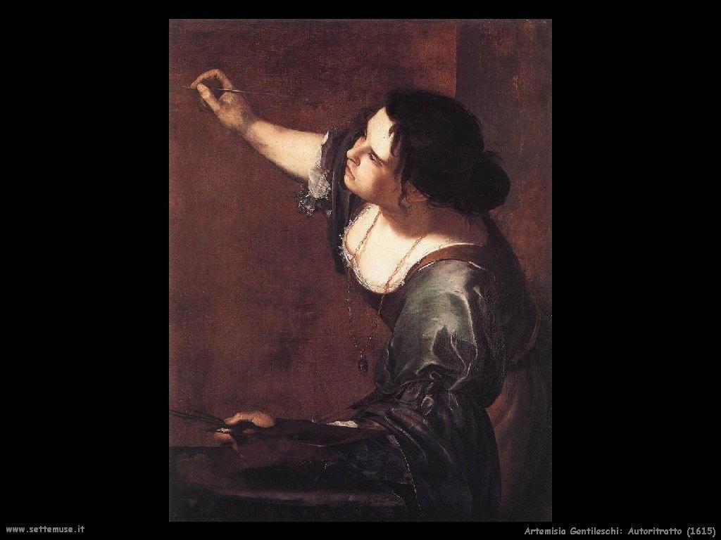 Artemisia Gentileschi Autoritratto (1615)