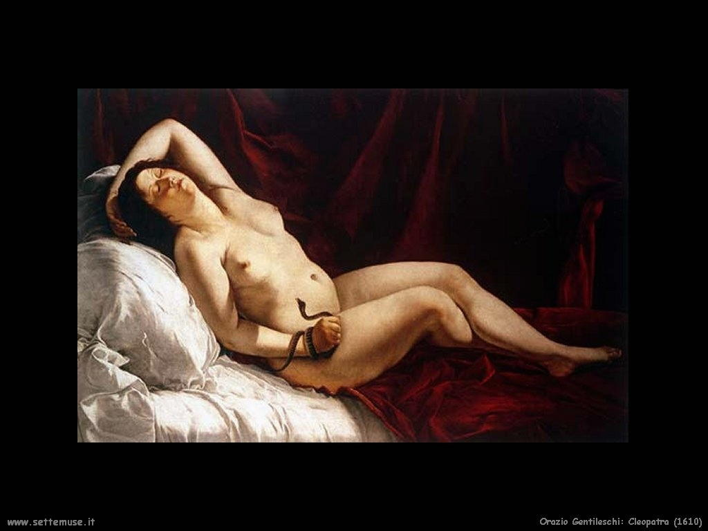 Orazio Gentileschi Cleopatra (1610)
