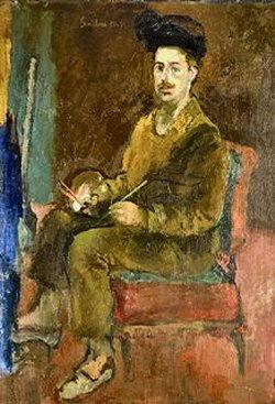 Dipinto di Franco Gentilini