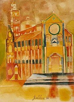 Pittura di Franco Gentilini