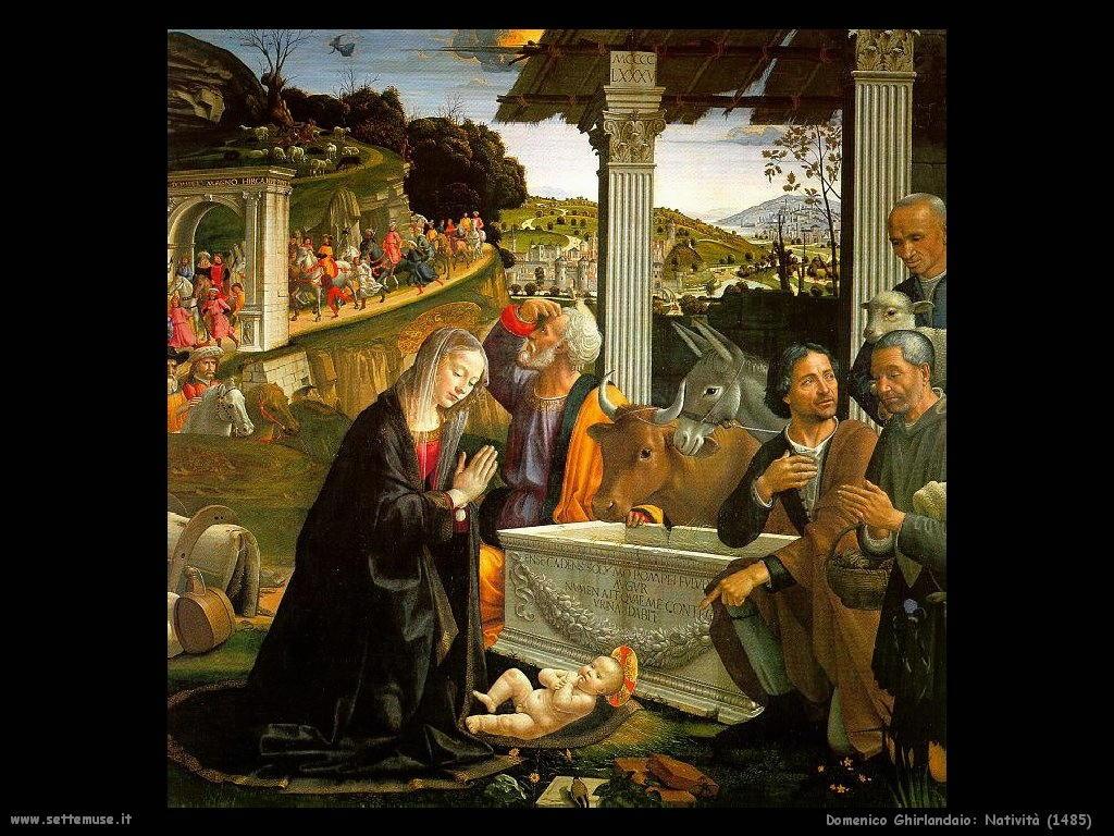 Domenico Ghirlandaio Natività del 1485