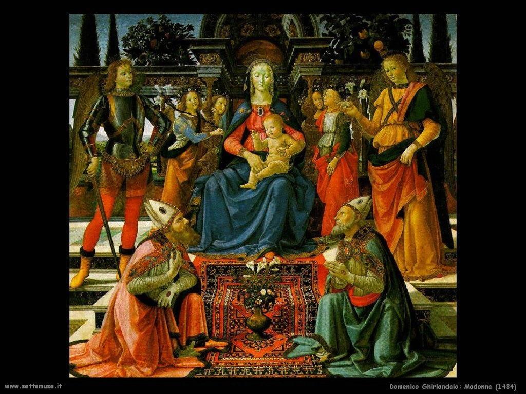 Domenico Ghirlandaio Madonna (1484)