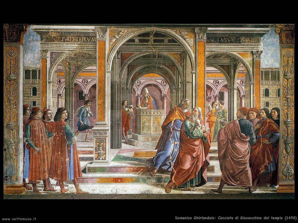 Cacciata di Gioacchino dal tempio (1490)