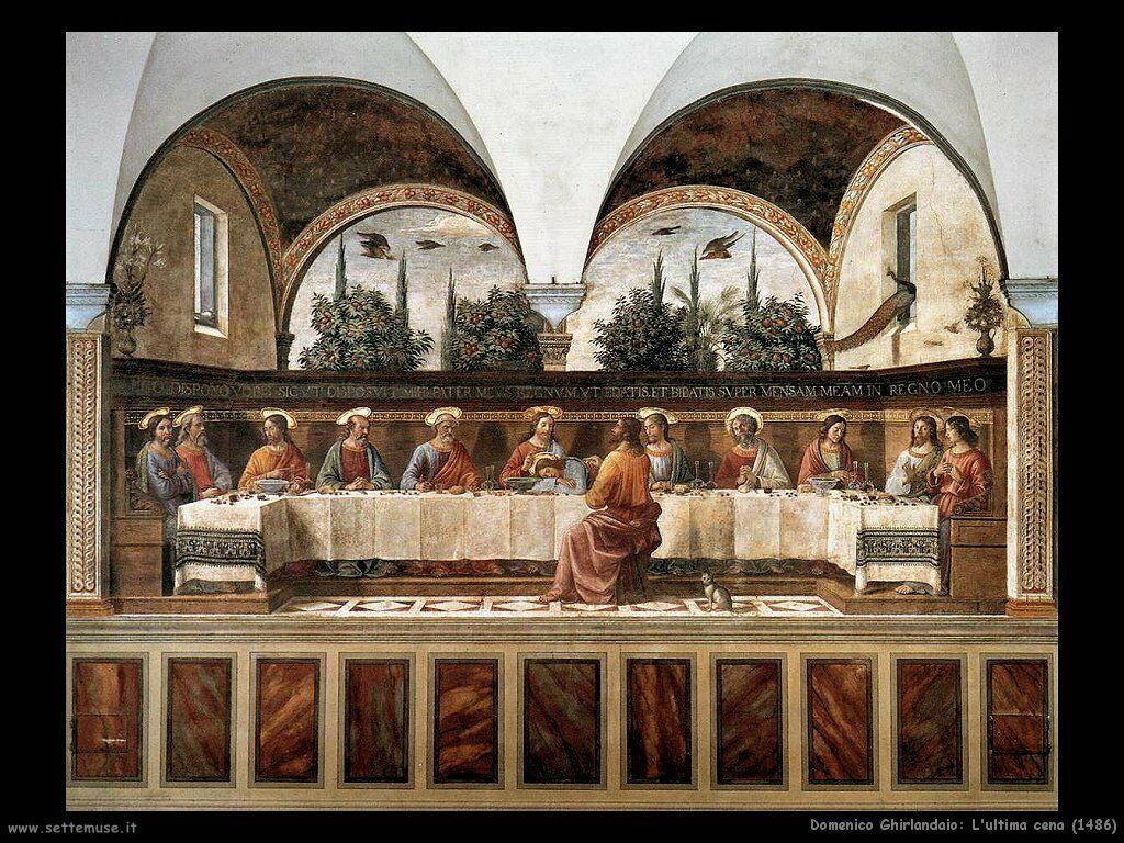Ultima cena (1486)