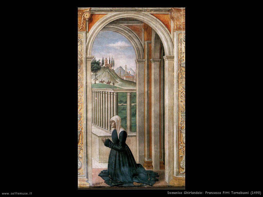 Francesca Pitti Tornabuoni (1490)