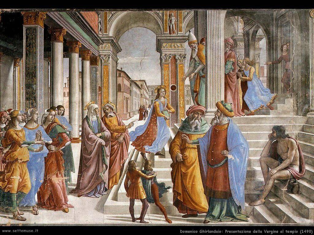 Presentazione della Vergine al tempio (1490)