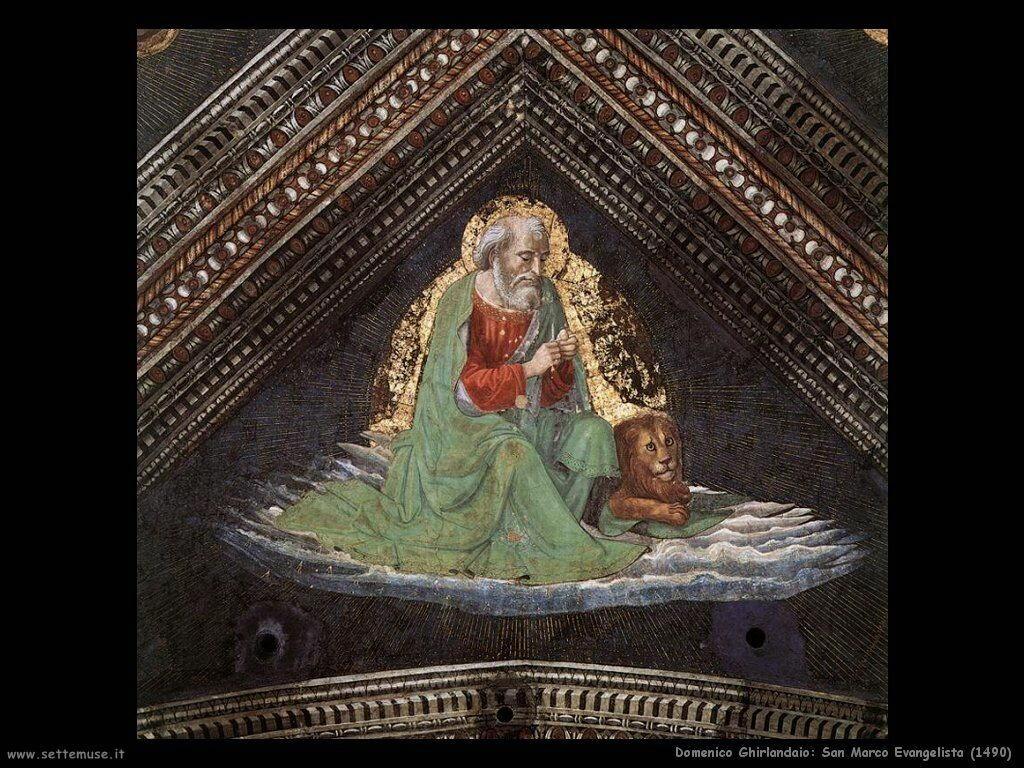 domenico ghirlandaio San Marco Evangelista (1490)