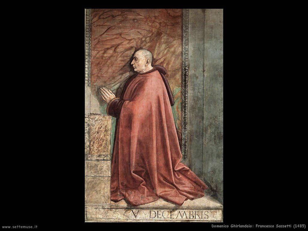 domenico ghirlandaio Francesco Sassetti (1485)