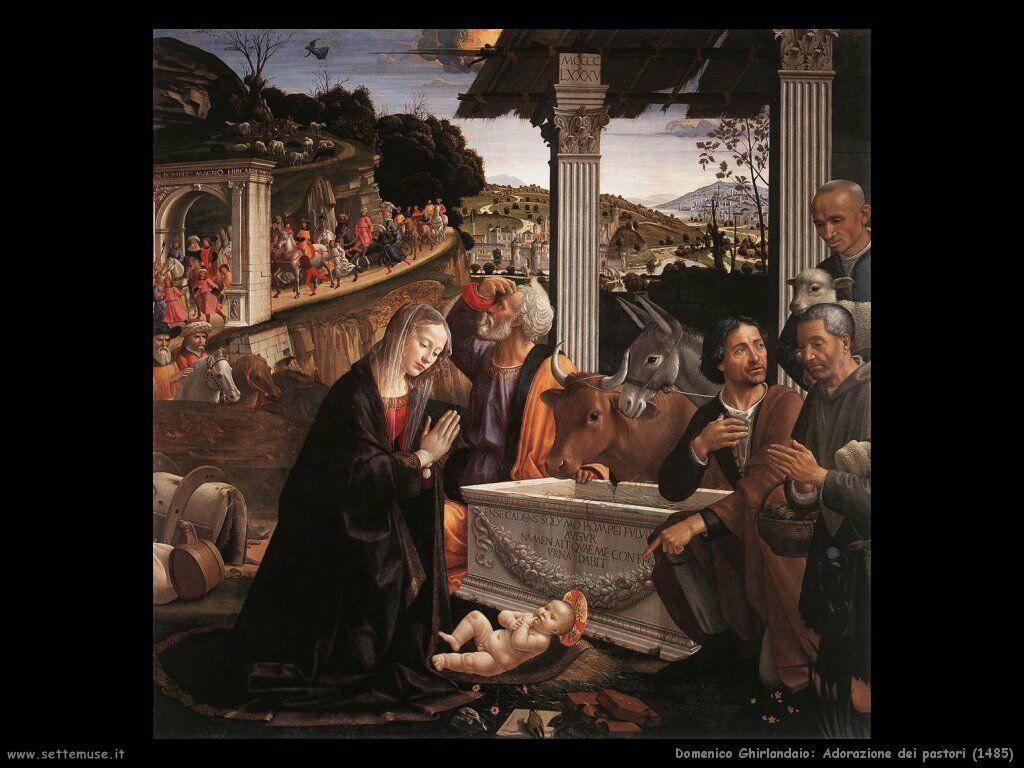 Adorazione dei pastori (1485)