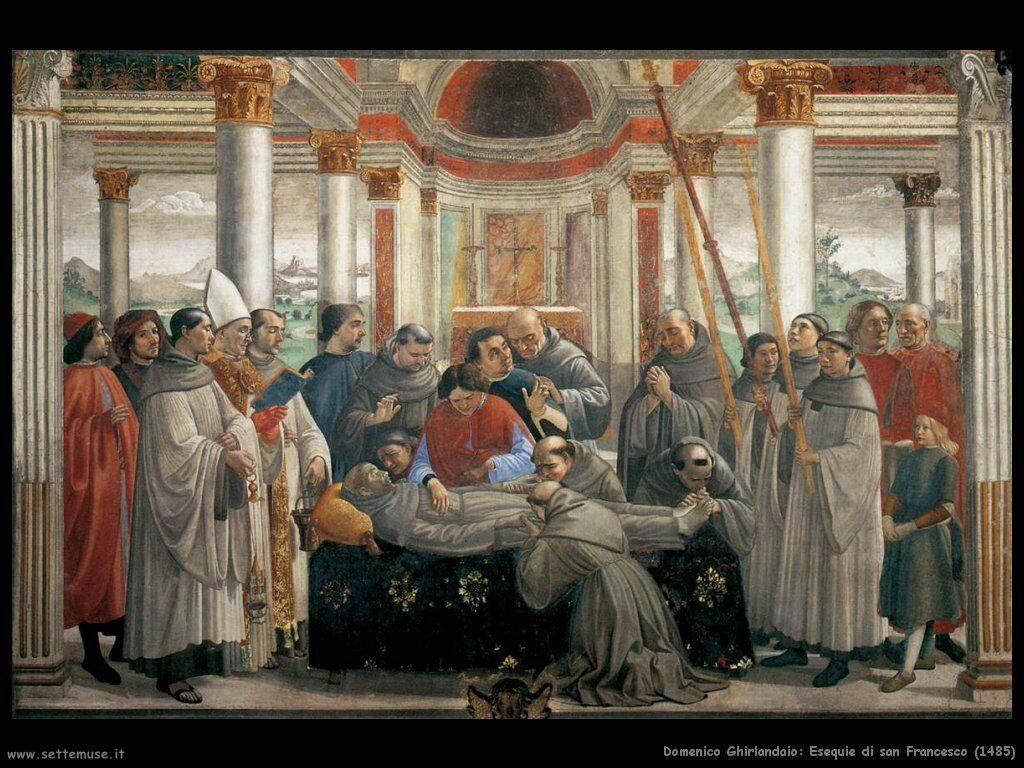 Esequie di San Francesco (1485)