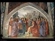 La rinuncia dei beni materiali San Francesco (1485)