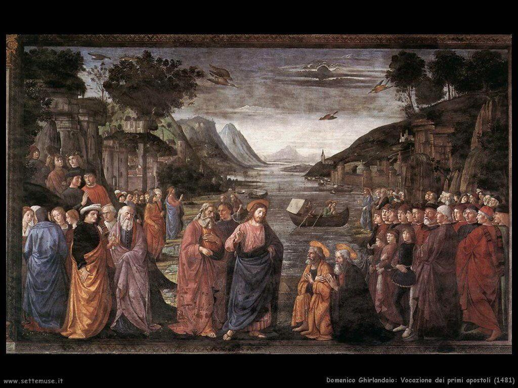 Vocazione dei primi apostoli (1481)