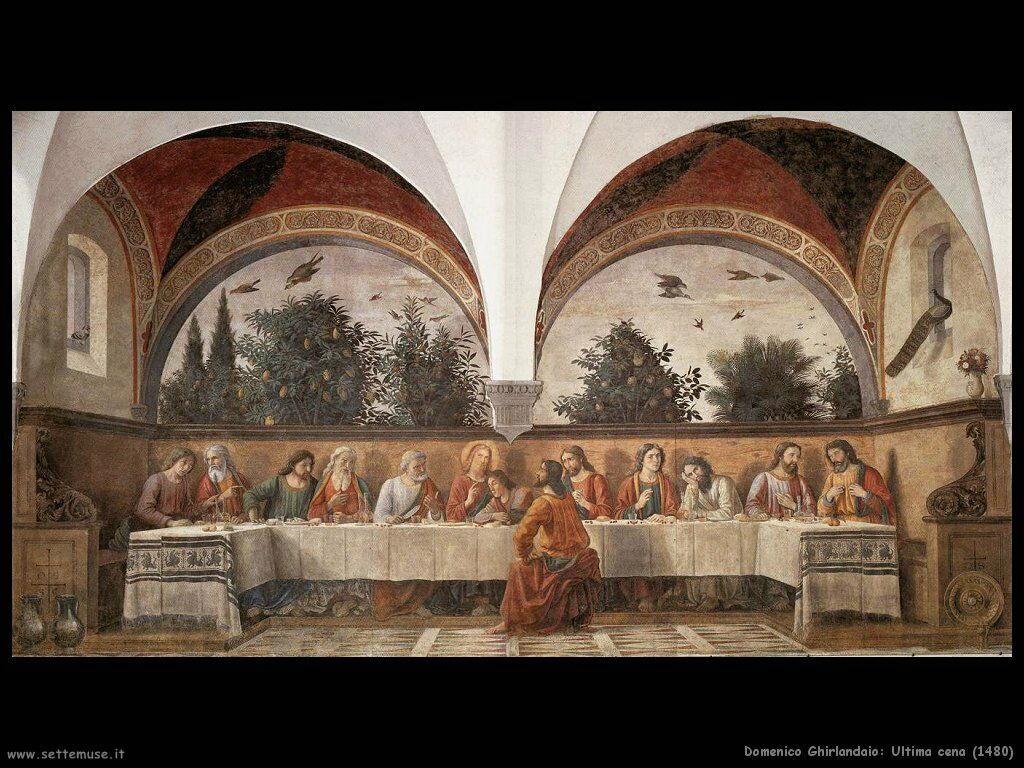Ultima cena (1480)