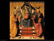 domenico ghirlandaio Madonna con bambino in trono (1479)