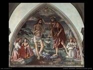domenico ghirlandaio Battesimo di Cristo (1473)