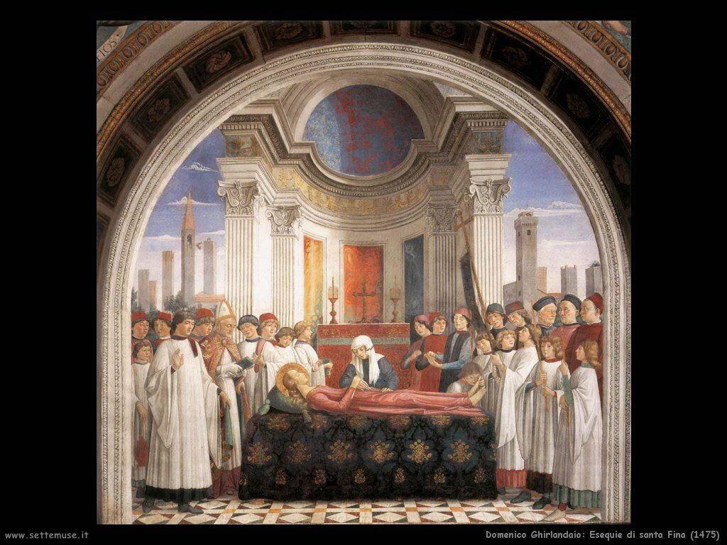 Esequie di santa Fina (1475)