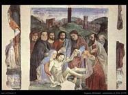 domenico ghirlandaio Lamentazione di Cristo (1472)