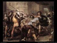 Luca Giordano Perseo combatte contro Fineo (1670)