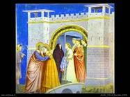 Bacio di Anna e Gioacchino - Giotto