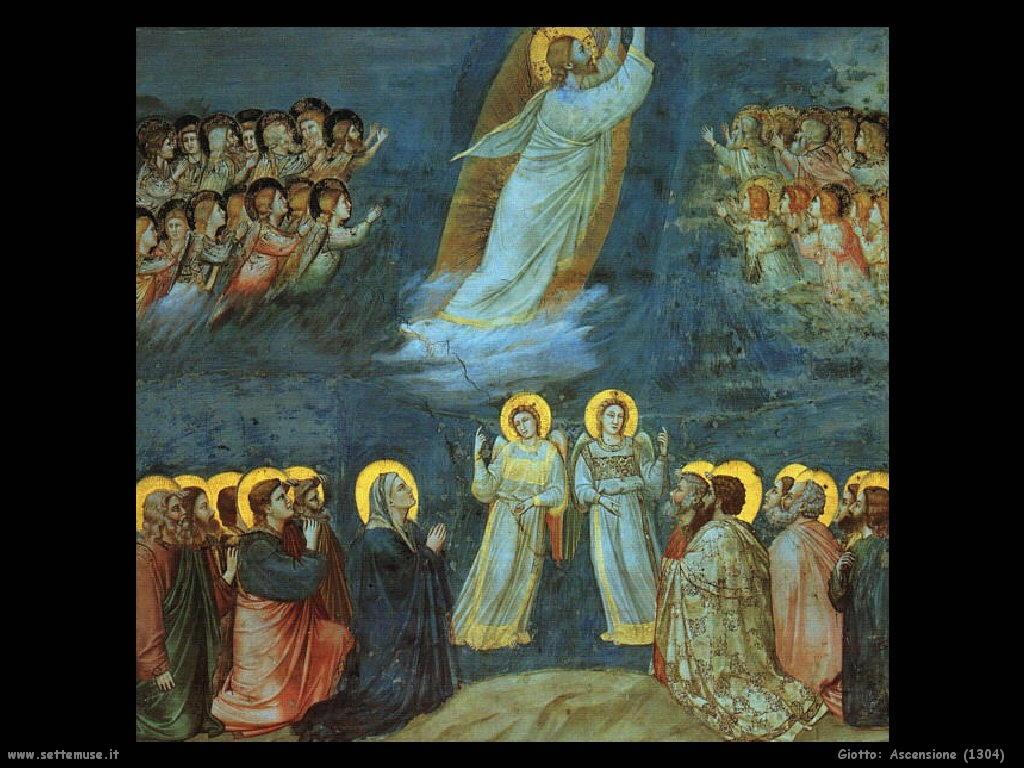 Giotto Ascensione (1304)