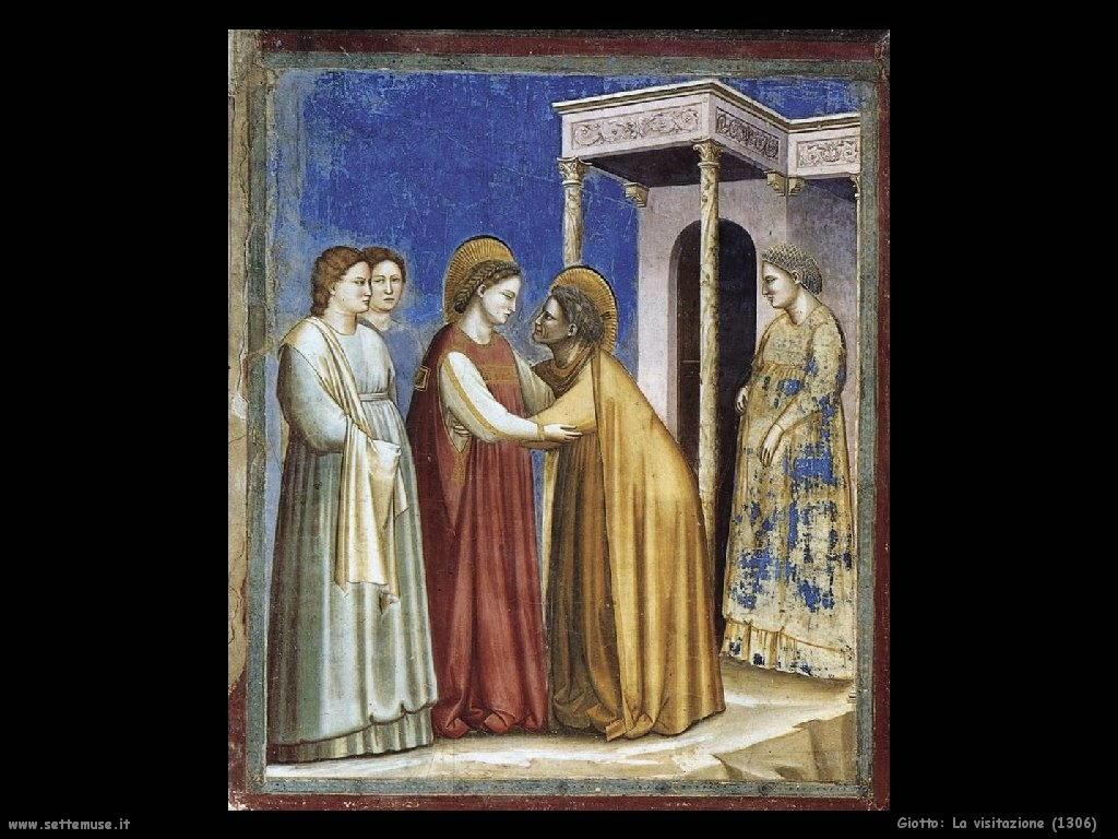 Giotto La visitazione (1306)