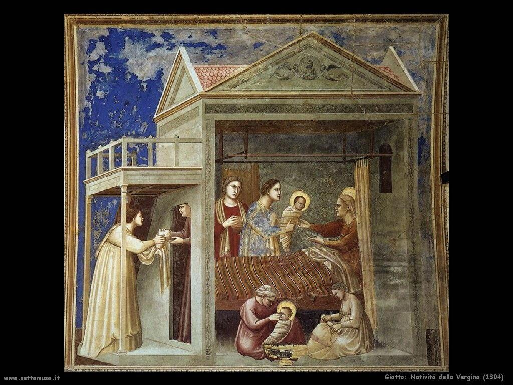 Giotto Natività della Vergine 1304
