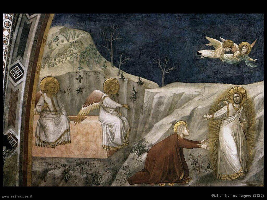 giotto Noli me tangere (1320)