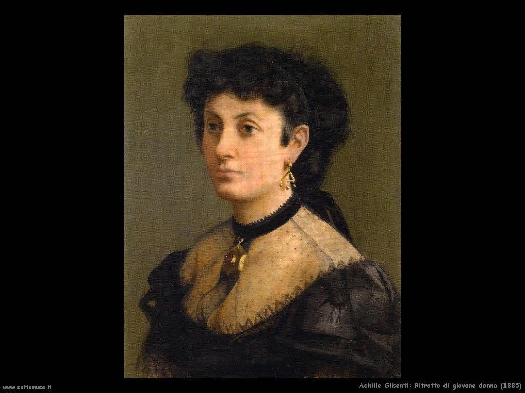 Ritratto di giovane donna (1885)