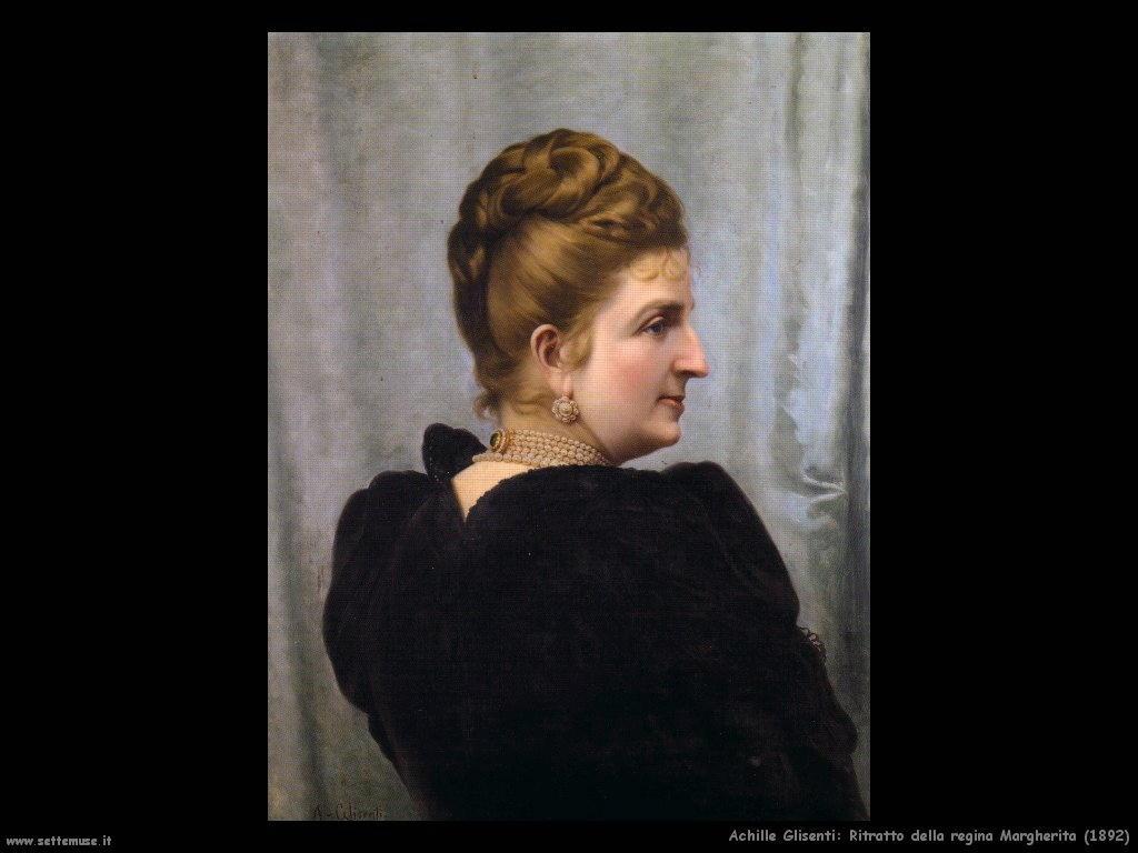 achille glisenti Ritratto della regina Margherita (1892)