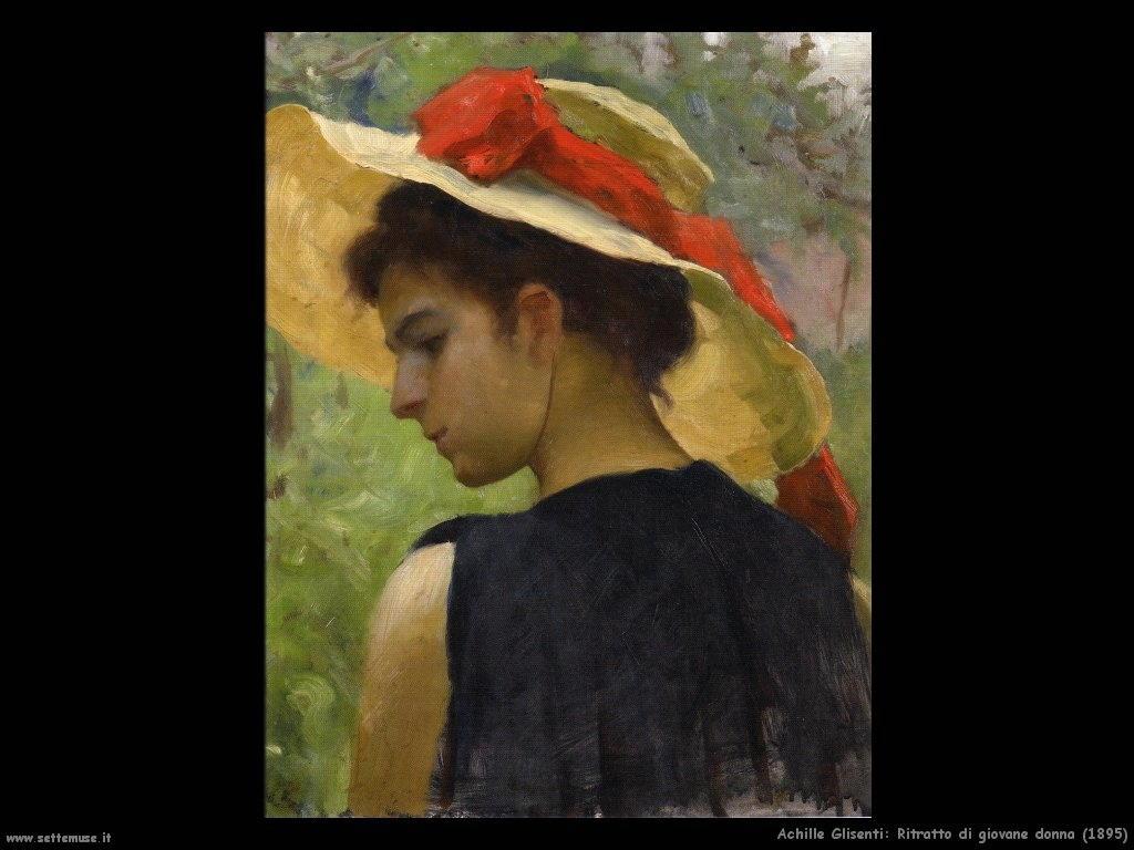 Ritratto di giovane donna (1895)