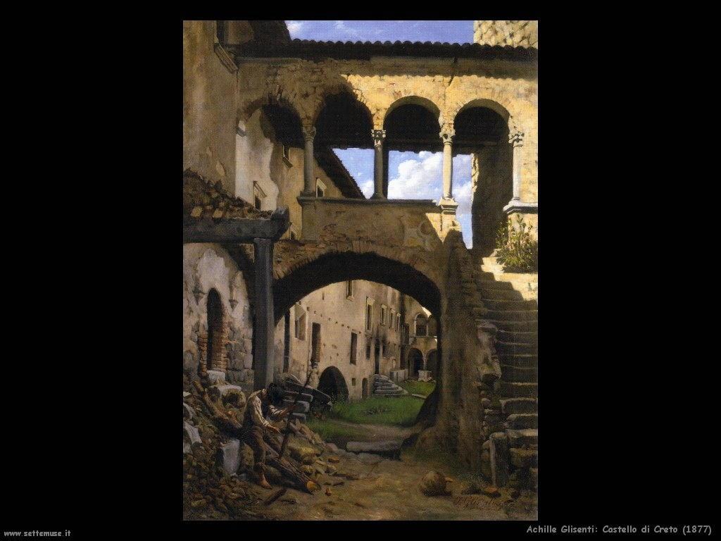 achille glisenti Castello di Creto (1877)