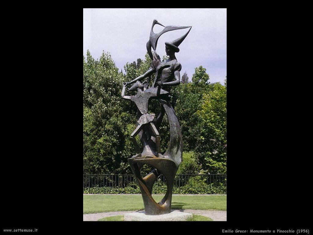 Emilio Greco Monumento a Pinocchio (1956)