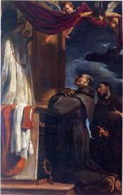 Dipinto Giovan Battista Barbieri detto il Guercino